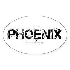Phoenix AZ Oval Decal
