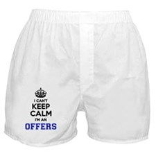 Funny Offer Boxer Shorts
