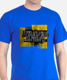 Sticks and stones... Royal T-Shirt
