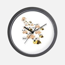 Unique Breast cancer support Wall Clock