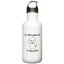 86 dog years 6 Water Bottle