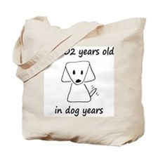 86 dog years 6 Tote Bag