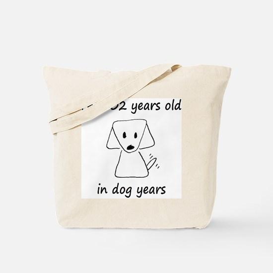 86 dog years 6 Tote Bag