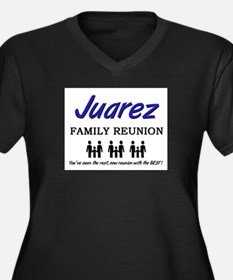 Juarez Family Reunion Women's Plus Size V-Neck Dar