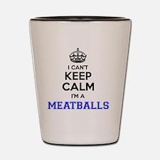 Funny Meatball Shot Glass