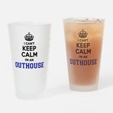 Cool Outhouse Drinking Glass