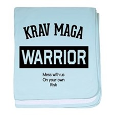 Krav Maga Warrior baby blanket