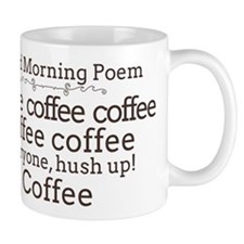 Good Morning Poem Mug Mugs