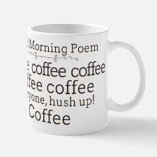 Good Morning Poem Mug Mugs