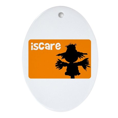 iScare ORG Oval Ornament