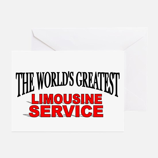 """The World's Greatest Limousine Service"" Greeting"