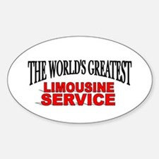 """The World's Greatest Limousine Service"" Decal"
