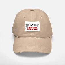 """The World's Greatest Limousine Service"" Baseball Baseball Cap"