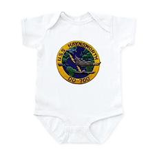 USS HAYNSWORTH Infant Bodysuit