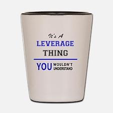 Unique Leverage Shot Glass