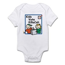 Kids Vote KillaCali Infant Bodysuit