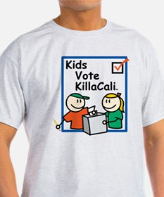 Kids Vote KillaCali T-Shirt