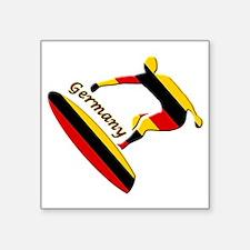Germany boarding logo Sticker