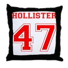 HOLLISTER 47 1947 Throw Pillow