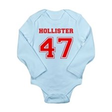 HOLLISTER 47 1947 Long Sleeve Infant Bodysuit