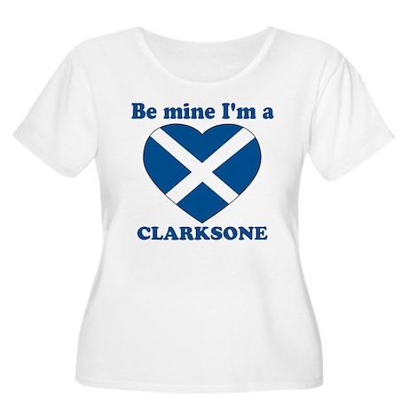 Clarksone, Valentine's Day Women's Plus Size Scoo