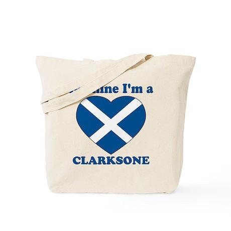 Clarksone, Valentine's Day Tote Bag