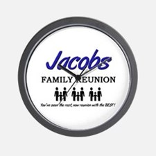 Jacobs Family Reunion Wall Clock