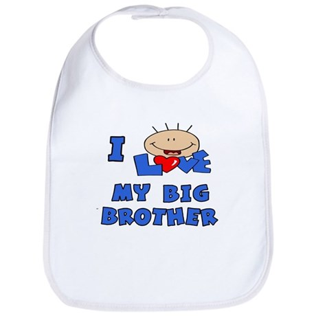 I love BIG Brother Blue Bib