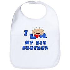 I love BIG Brother Blue Bib