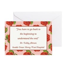 YOU HAVE TO GO BACK Greeting Cards