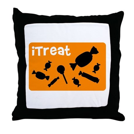iTreat Throw Pillow