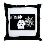 iTrick Throw Pillow