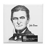 John Brown Tile Coaster