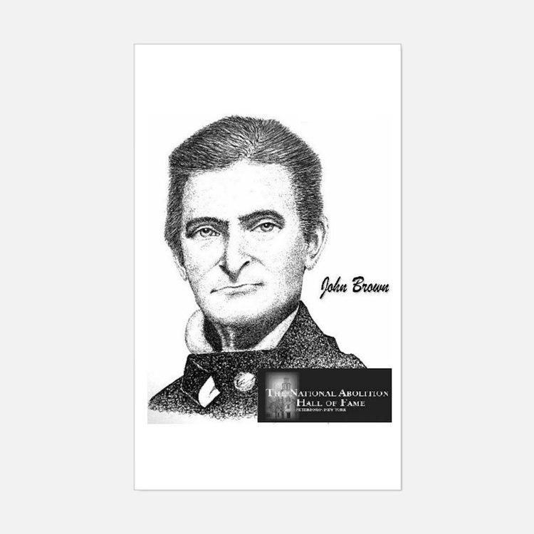 John Brown Rectangle Decal