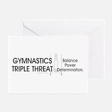 Gymnastics Teepossible.c Greeting Cards (Pk of 10)