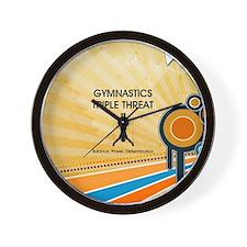 Gymnastics Teepossible.com Wall Clock