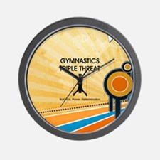 Gymnastics Teepossible.com Wall Clock