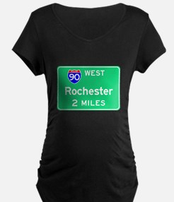 Rochester NY, Interstate 90 West T-Shirt