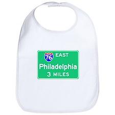 Philadelphia PA, Interstate 76 East Bib
