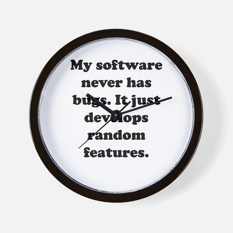 My Software Wall Clock