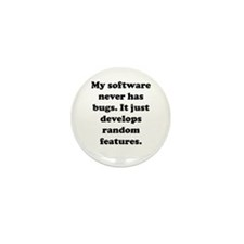 My Software Mini Button (10 pack)