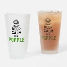 Unique Popple Drinking Glass