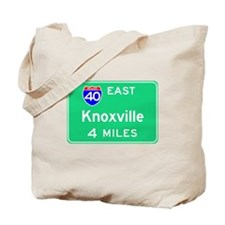 Knoxville TN, Interstate 40 East Tote Bag