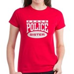 Proud Police Sister Women's Dark T-Shirt