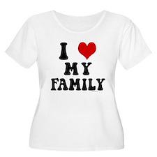 I Love My Family - I Heart My Family T-Shirt