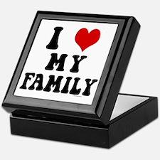 I Love My Family - I Heart My Family Keepsake Box