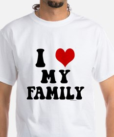 I Love My Family - I Heart My Family Shirt