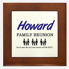 Howard Family Reunion Framed Tile