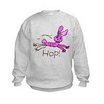 Kid Art Bunny Kids Sweatshirt