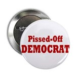 Pissed-Off Democrat (10 pack of Buttons)